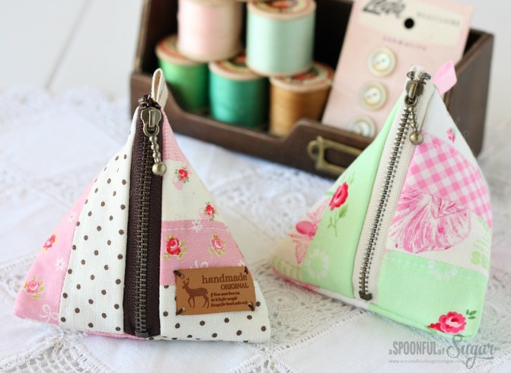 Triangle Pouch from A Spoonful of Sugar