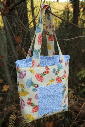 Ruffled Tote Bag from Crafty Staci