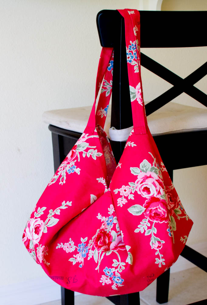 1 Yard Hobo Bag from Sew Can She