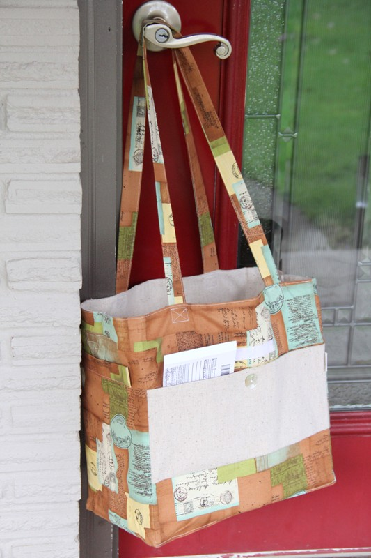 Expandable Mail Bag from Crafty Staci