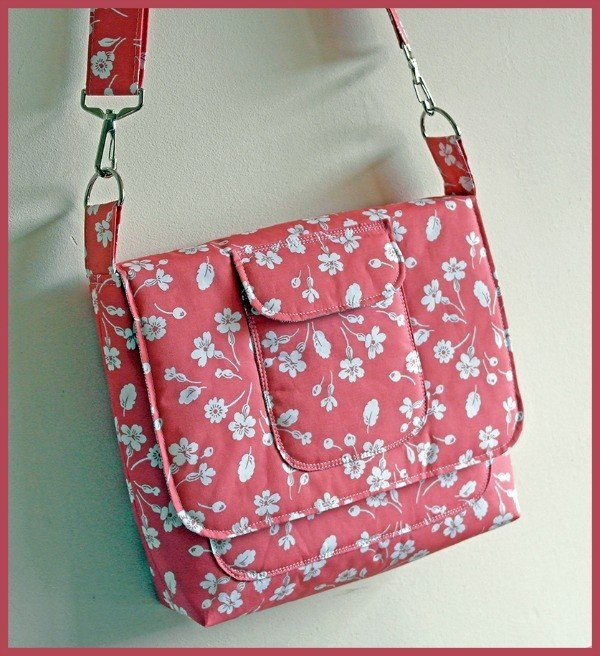 Padded Satchel from The Sewing Directory