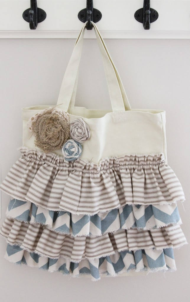 Ruffled Tote from U Create