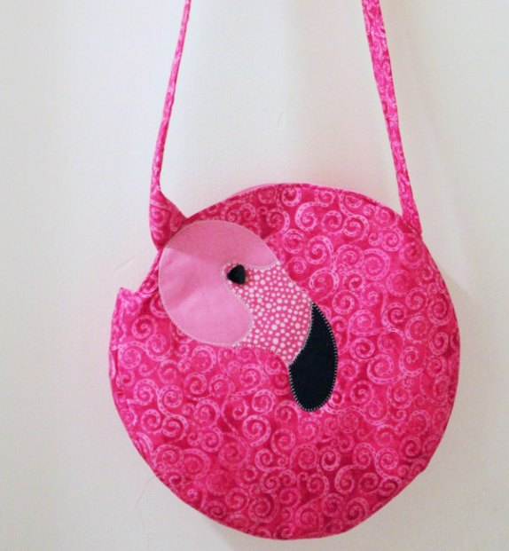 Flamingo Tote from ThermoWeb