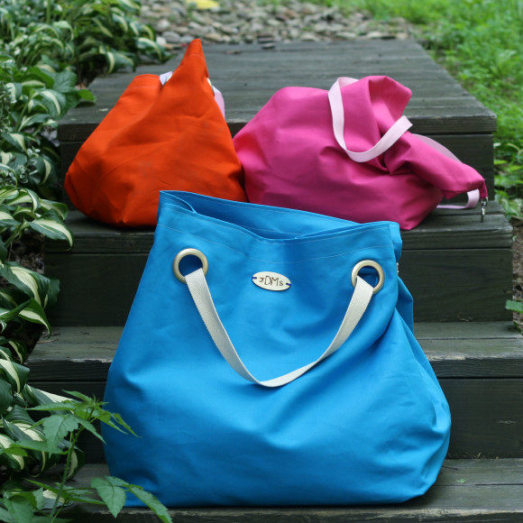 Easy Duck Canvas Tote from The Sweeter Side of Mommyhood