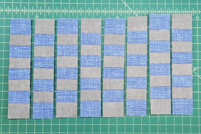 Alternating strips flipped