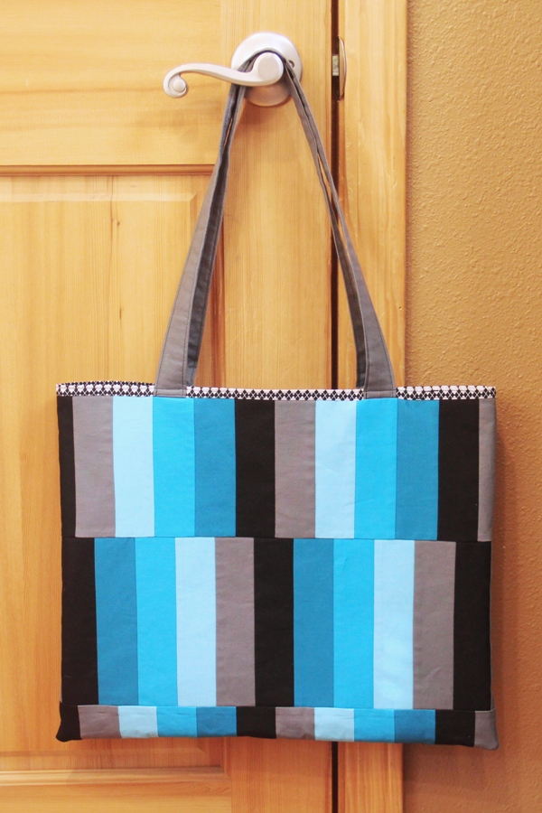 Triaxal Weave Bag from craftystaci.com #freebagpattern #triaxalweave #madweave