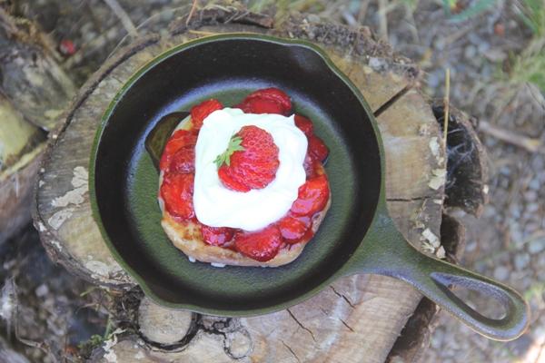 Donut Strawberry Shortcake from craftystaci.com