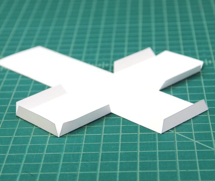 Fold up tabs