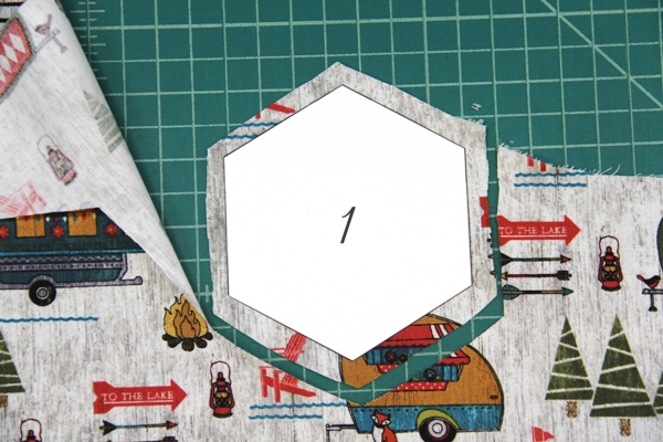 Cutting out piece 1