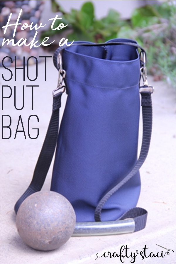 How to Make a Shot Put Bag #summersewing #sewingforsports