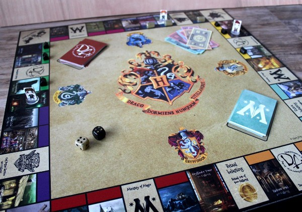 DIY Harry Potter Monopoly from Harry Potter Party