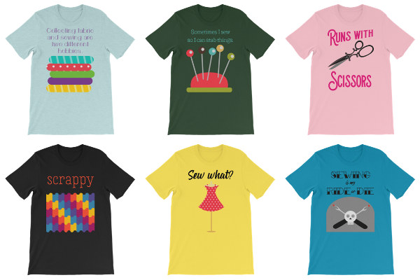 T-Shirts for People Who Sew from craftystaci.com #sewingshirts #giftsforsewers #giftsforsewists