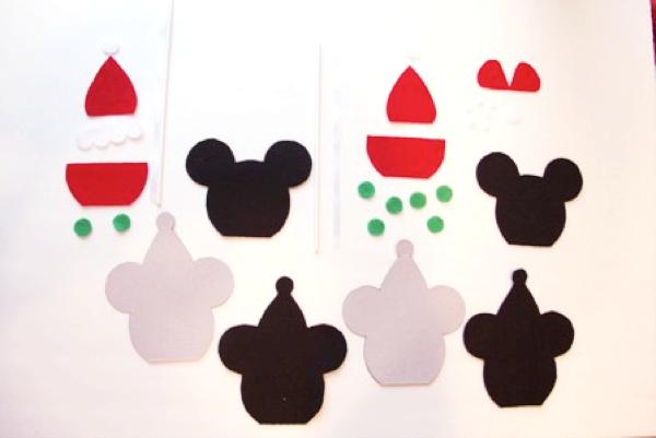 Mickey and Minnie Caramel Apple Ornaments - Crafty Staci 3