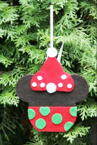 Minnie Caramel Apple Ornament