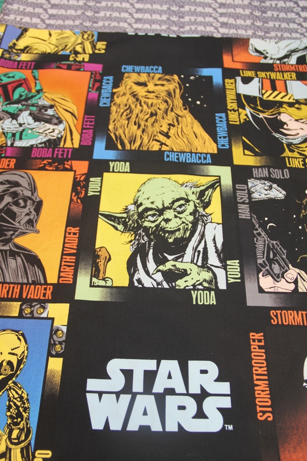 Star Wars fabric on Crafty Staci for Undercover Tourist
