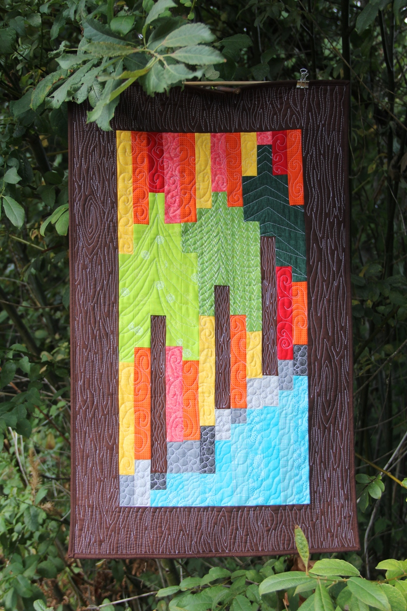 Eagle Creek Fire Quilt from Crafty Staci