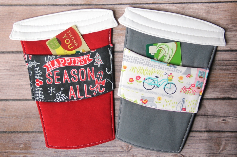 To Go Cup Mug Mats with gift cards from craftystaci.com