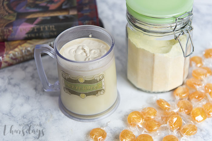 Hot Butterbeer Mix from More Than Thursdays