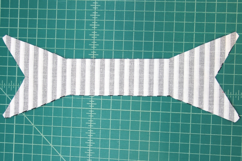 Bows sewn together