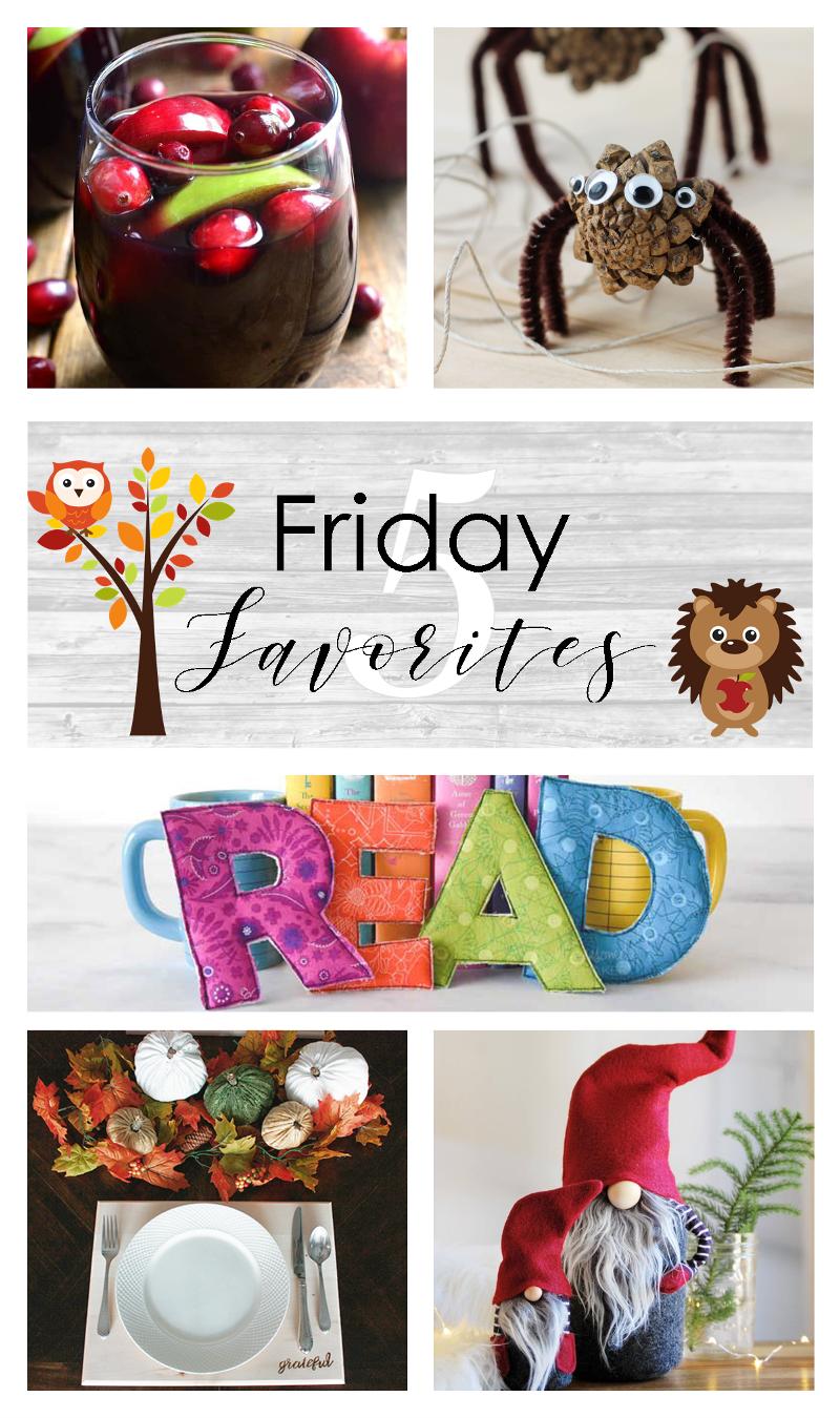 Friday Favorites No. 406 from craftystaci.com #fridayfavorites