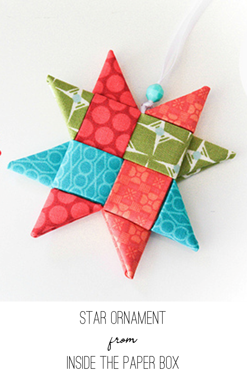 Star Ornament from Inside the Paper Box