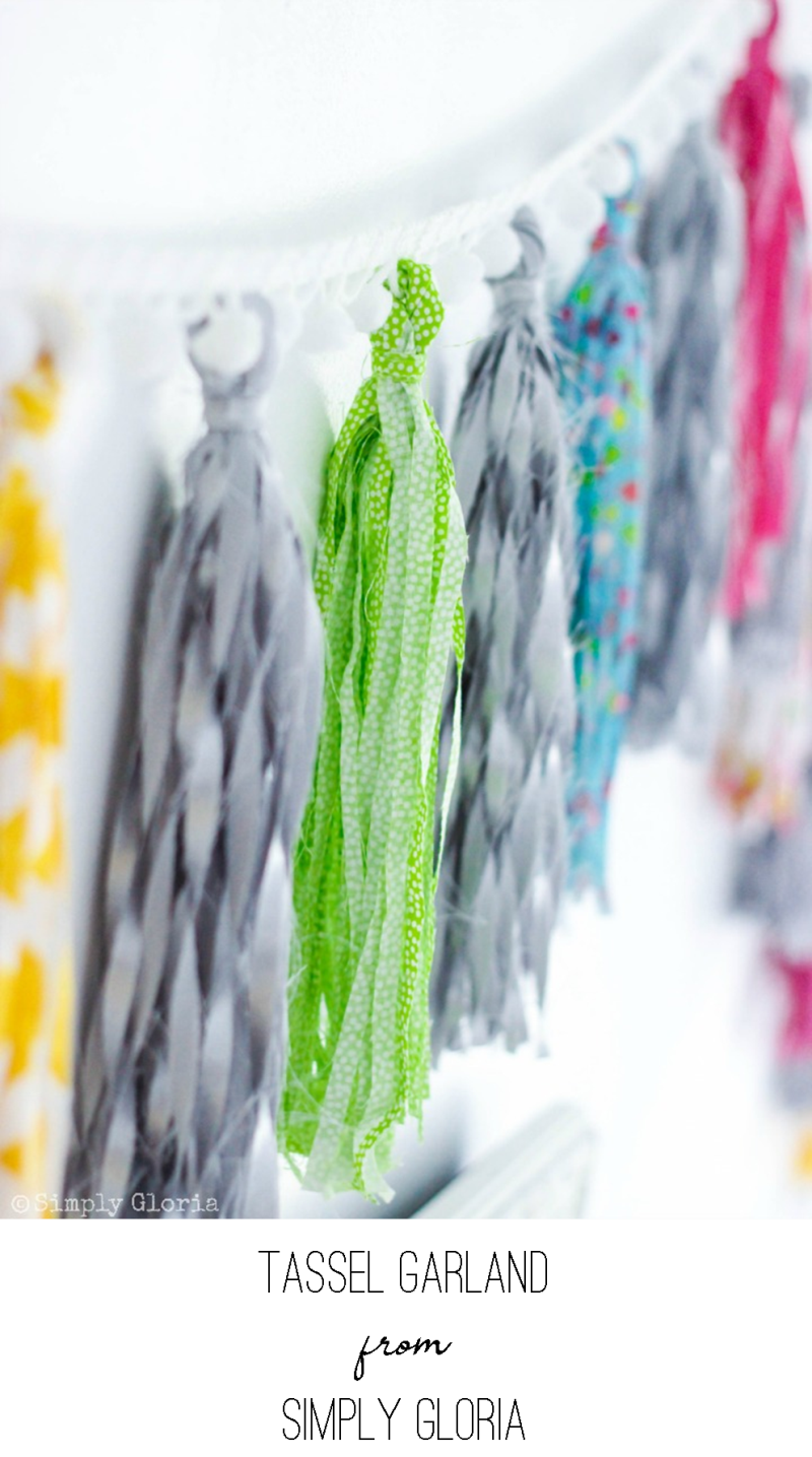 Tassel Garland from Simply Gloria