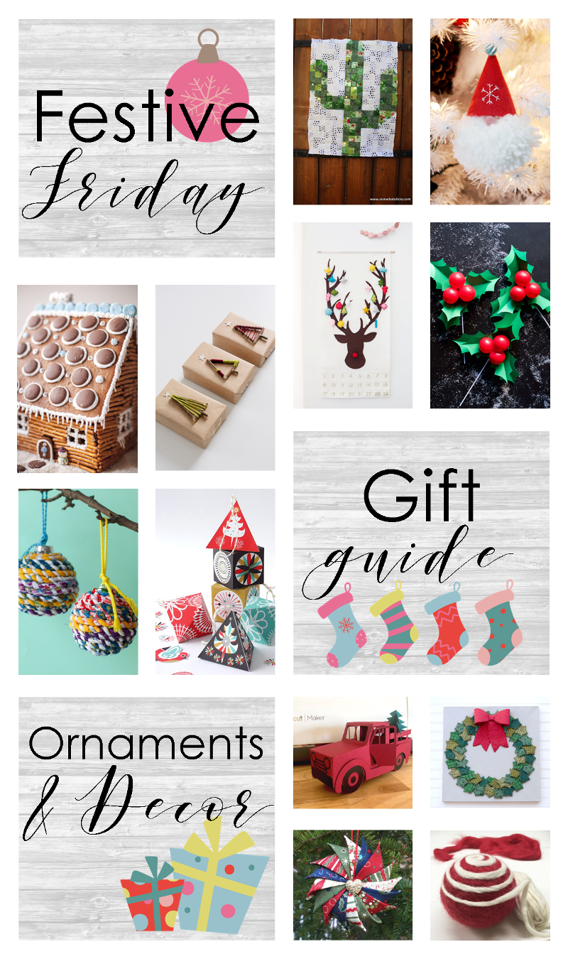 Festive Friday - Holiday Ornaments and Decor #fridayfavorites #festivefriday
