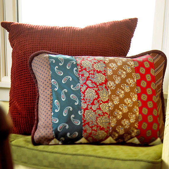 Tie Pillow from Better Homes and Gardens