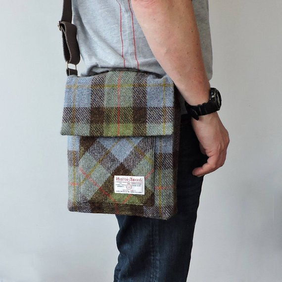 Men's Messenger Bag Pattern from SpencerOggPatterns