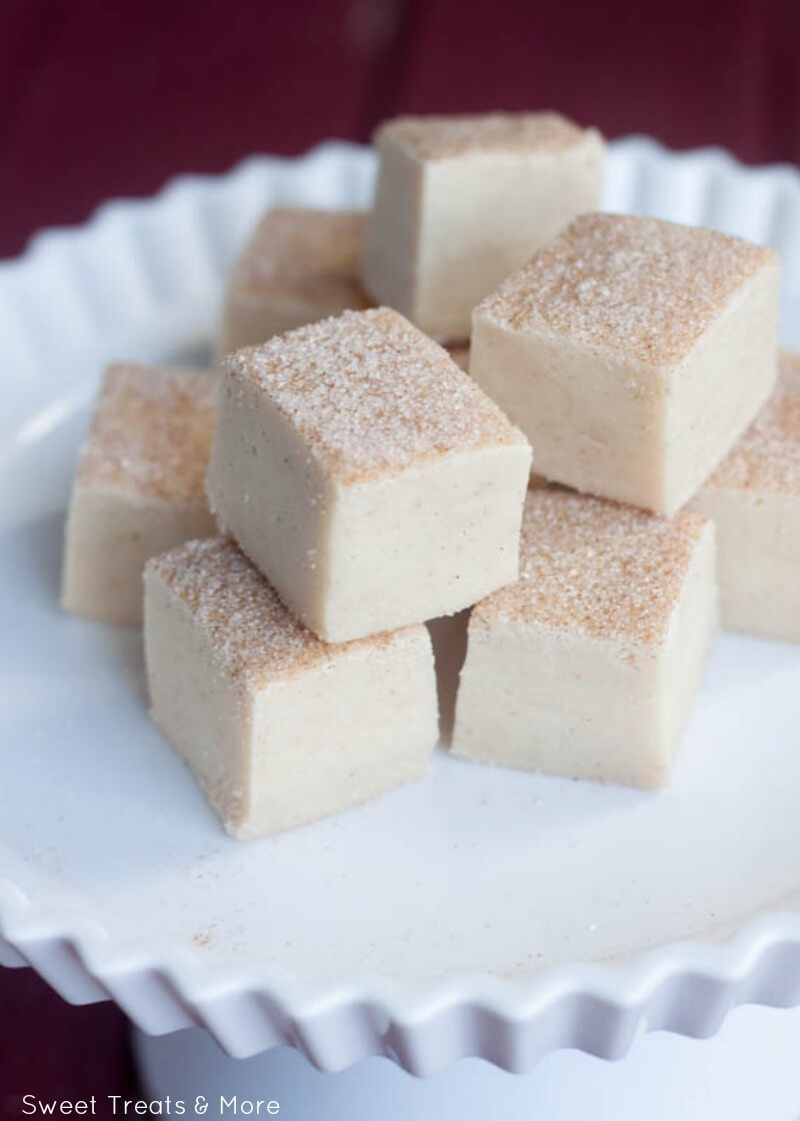 Snickerdoodle Fudge from I Heart Naptime