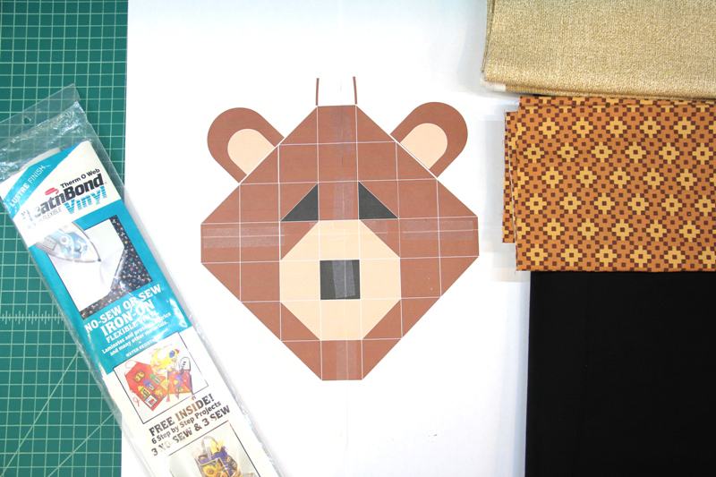 supplies for bear ornament