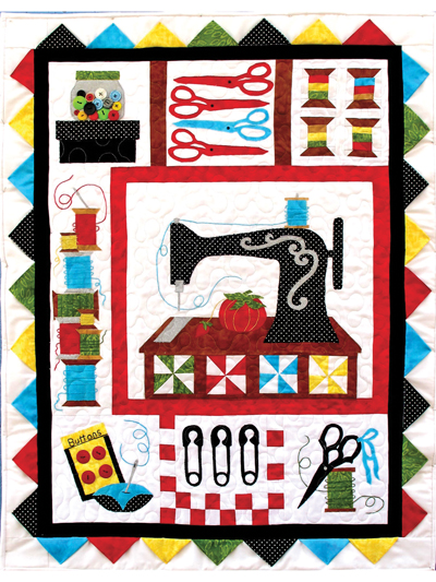Sewing Treasures Quilt Pattern from Annie's Craft Store