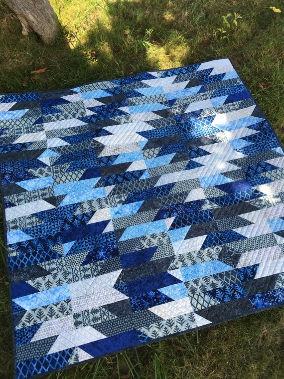 Mountain Dawning Quilt Pattern from Pamelaquilts