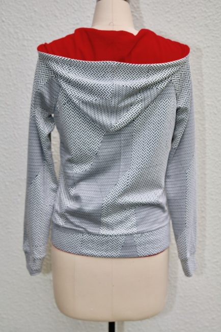 Hoodie Pattern from So Sew Easy