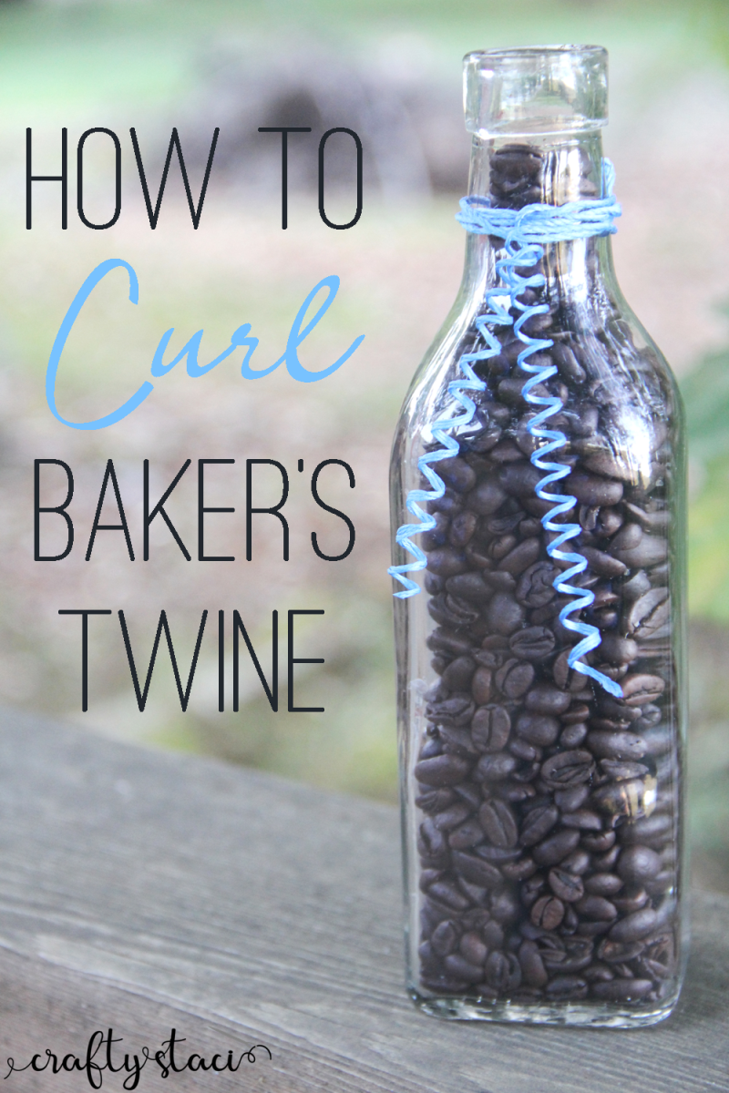 How to Curl Baker's Twine