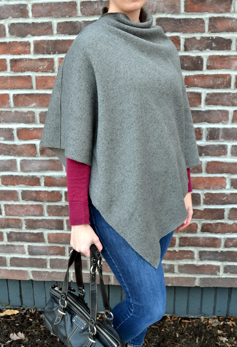 How to Make a Poncho from Mary Martha Mama
