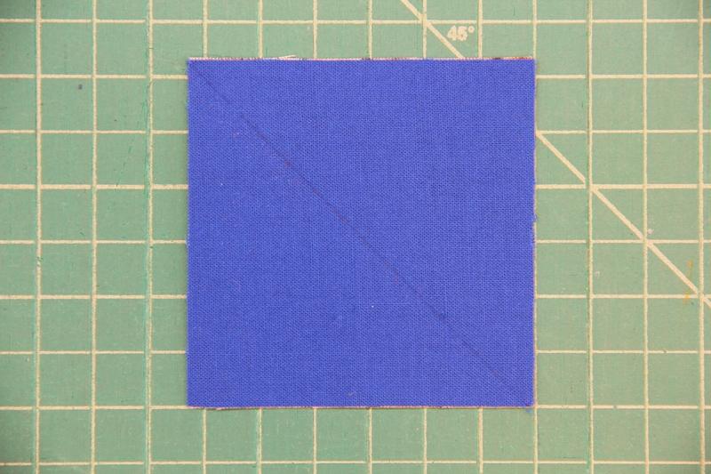 draw line across squares