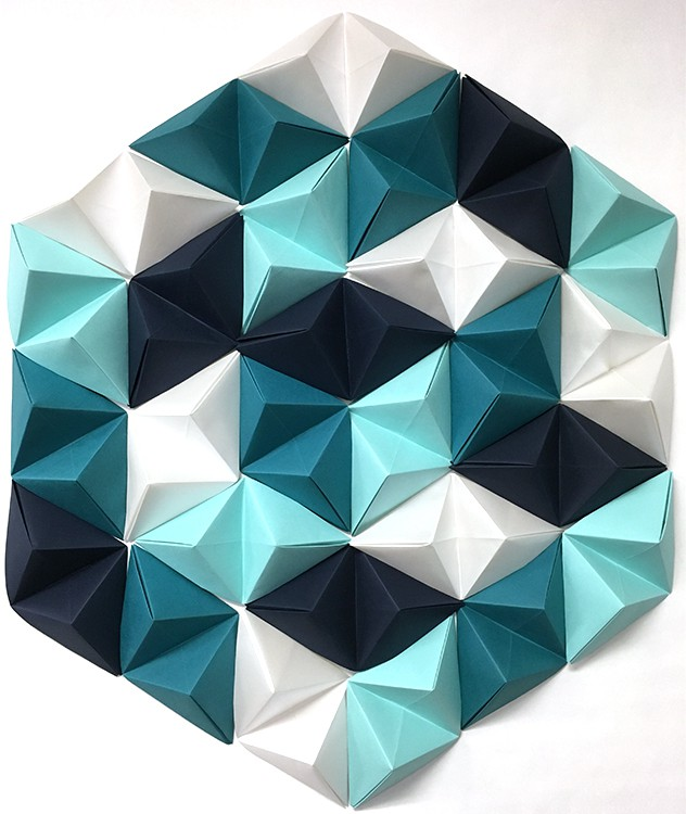 Geometric Paper Wall Art from Jam Paper