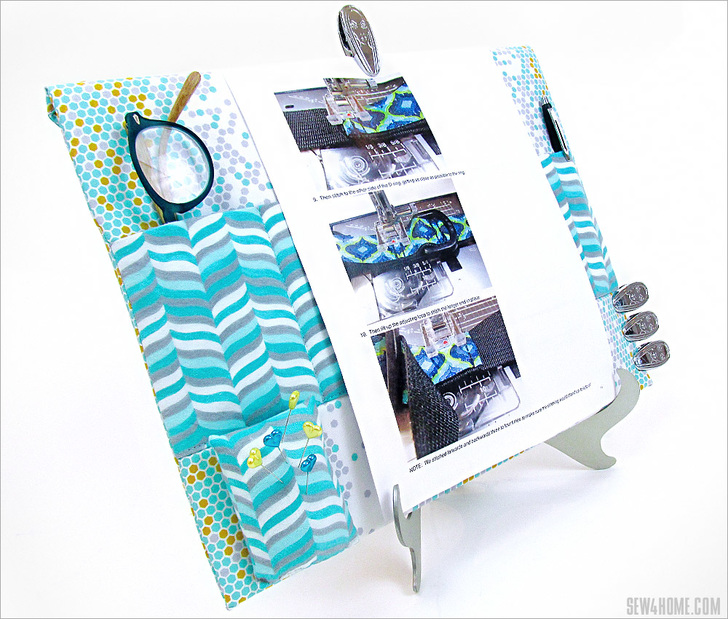 Easel Organizer for Sewing Room from Sew4Home.jpg