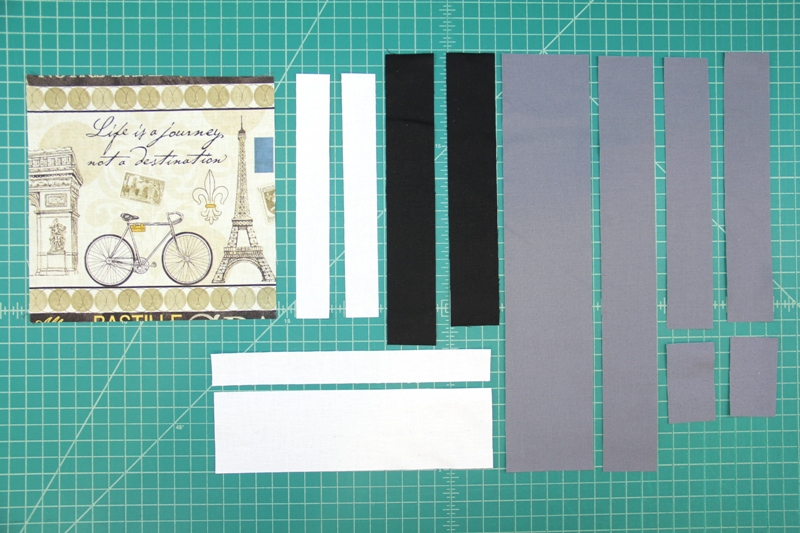 pieces needed for photo quilt square