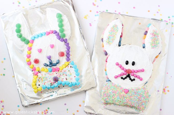 Easter Bunny Cake from Gluesticks