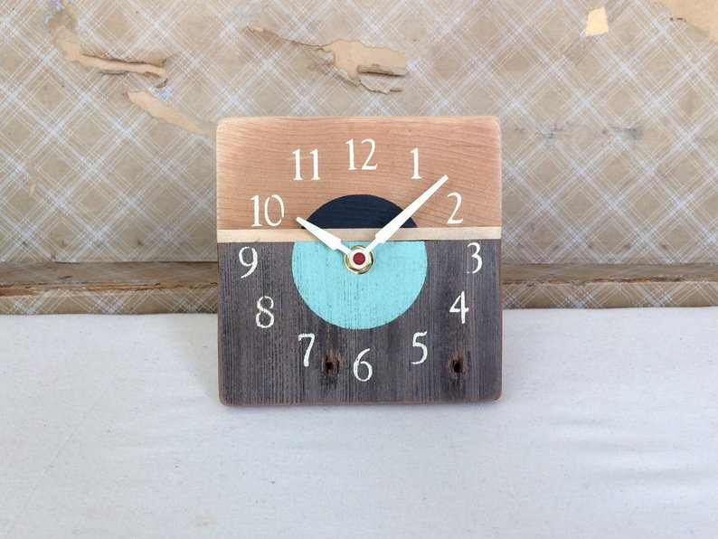 Upcycled Wood Clock from EnvisionArtworks.jpg
