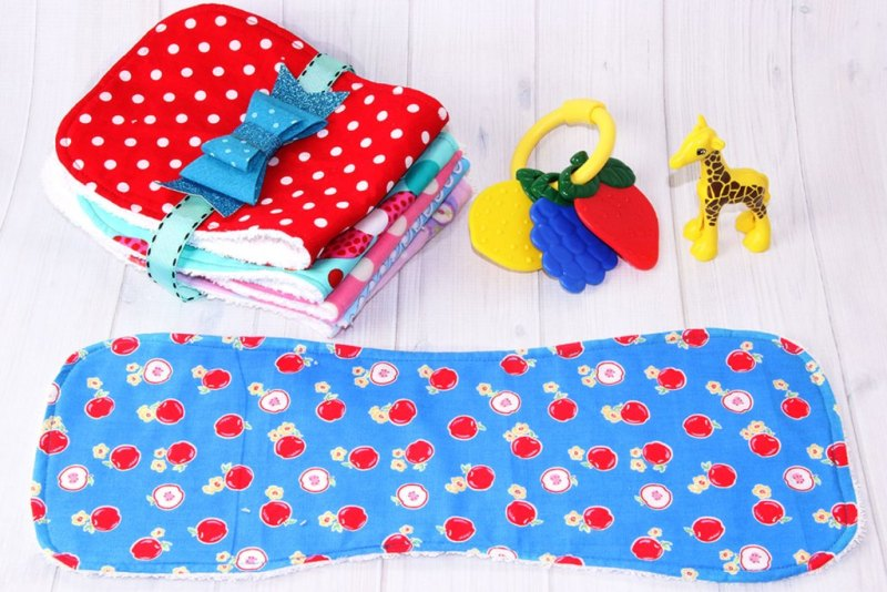 Burp Cloth Sewing Pattern from Treasurie