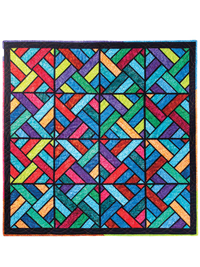 Tessellating Diamonds Quilt at Annie's Craft Store