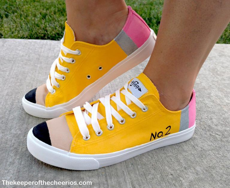 Pencil Shoes from The Keeper of the Cheerios