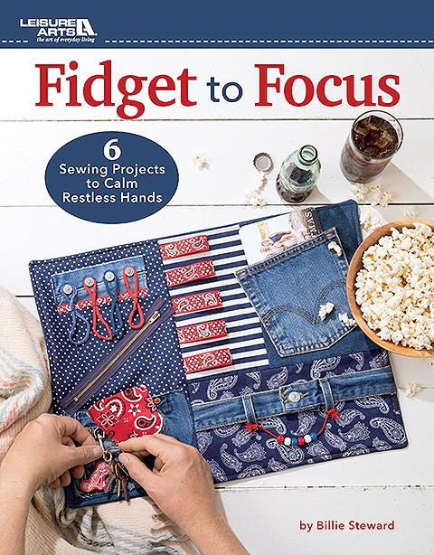Fidget to Focus book from Leisure Arts