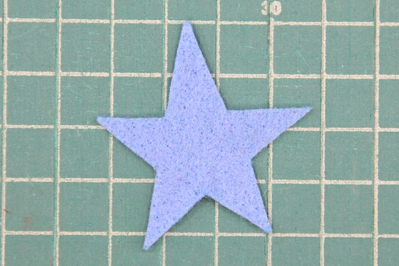 Star top for blueberry pincushion