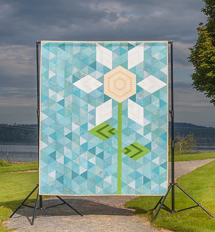 Big Sky Bloom Quilt Pattern from Fat Quarter Shop