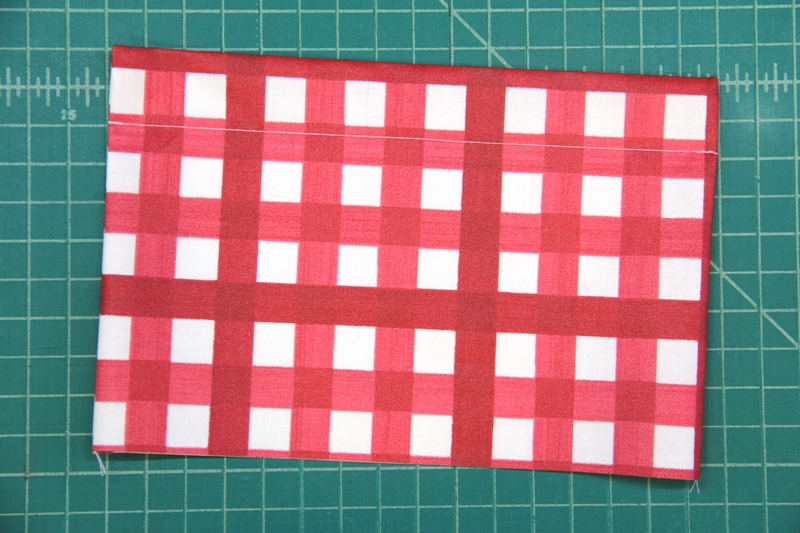 Topstitch pocket for shopping bag on Crafty Staci