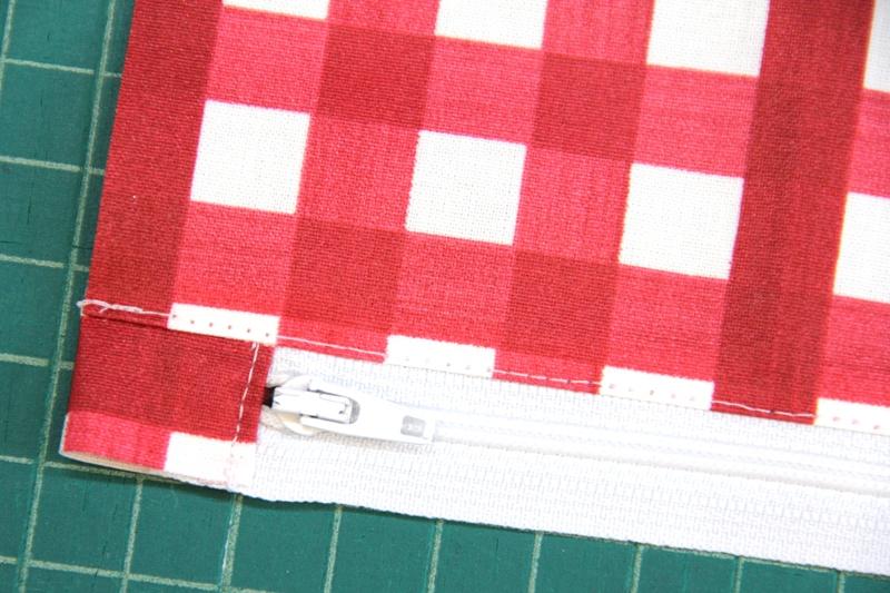 Topstitch near zipper on Crafty Staci